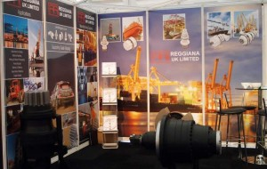 Reggiana UK where exhibiting again this year in Aberdeen. The organisers of the 2015 Offshore Europe exhibition hailed its second best ever attendance despite the effects of the current downturn in the price of oil. Attendance figures remained high at 55,947 with delegates drawn from 104 countries. This compares to 2013 when crowds hit a record 63,000.
